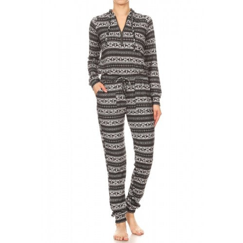 pajamas, pajama for women, jumpsuit, winter jumpsuit