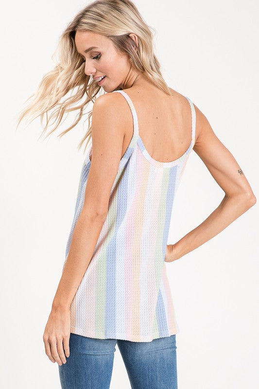 pastel stripes, tank top, tank tops, stripe tank top, stripe tank tops