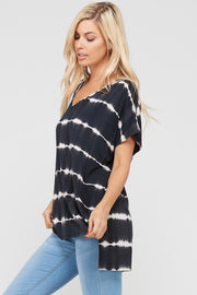 Loose Fit Tie Dye Top | FINAL SALE, CLOTHING, A.Gain, BAD HABIT BOUTIQUE