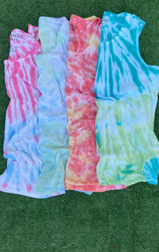 Summer in Boji Tie Dye Tank Top