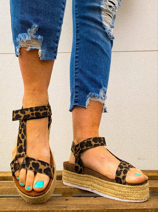 Jenny Platform Sandal-Very G CHEETAH | FINAL SALE, SHOES, very g, BAD HABIT BOUTIQUE