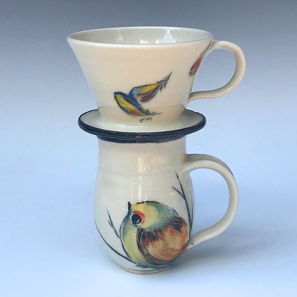 Coffee Pour Over, Bird