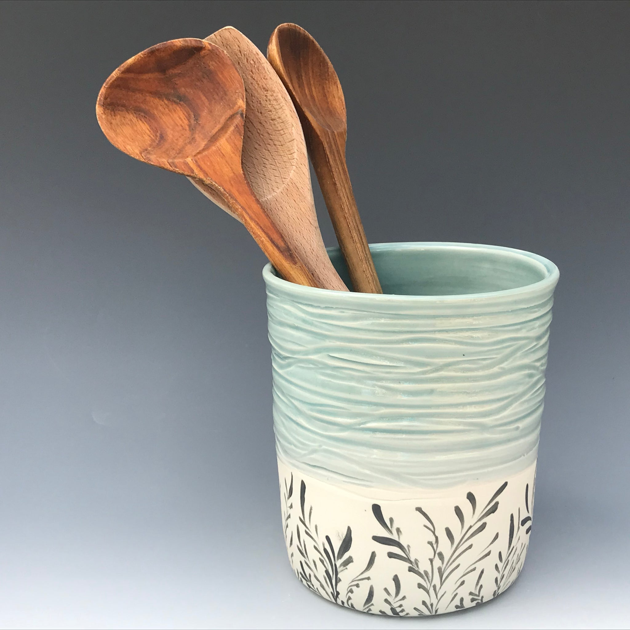Utensil Jar, Sea Oat