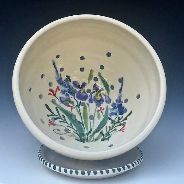 Wildflower Berry Bowl and Plate
