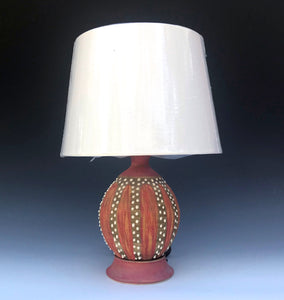 Lamp, Small Red Urchin