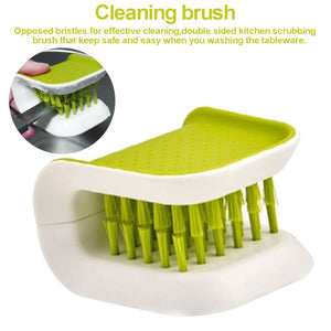 50% OFF!! Scrub Brush for Knife & Cutlery