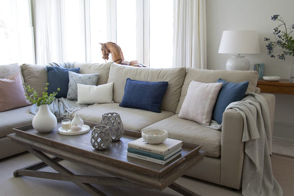 Layered Lounge - Top 10 tips on how to style your cushions