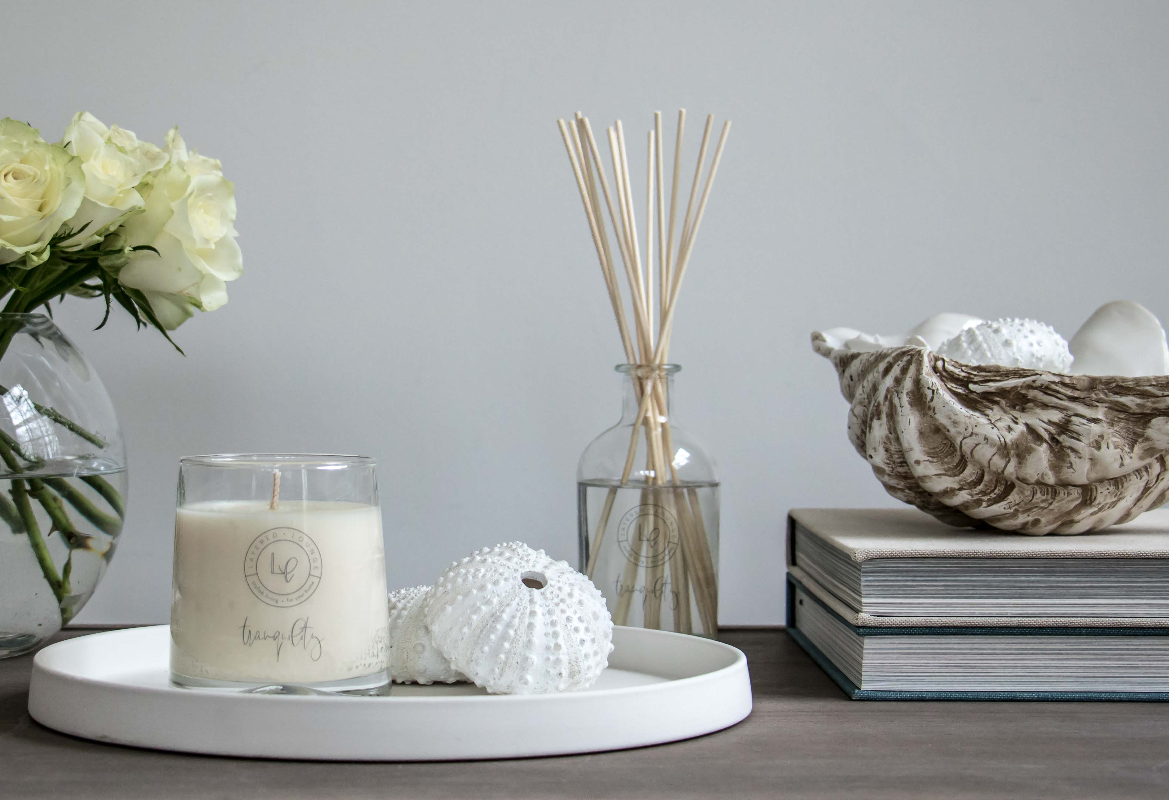 Tranquility Scented Candle & Diffuser by Layered Lounge