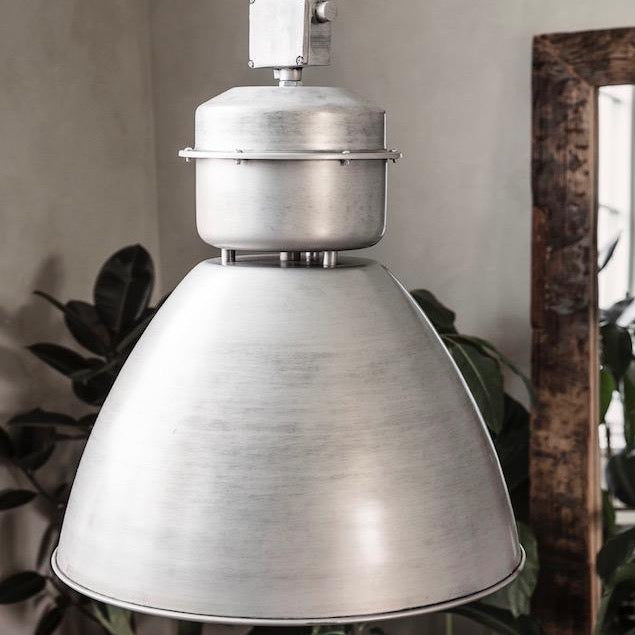Large Metal Industrial Pendant Lamp