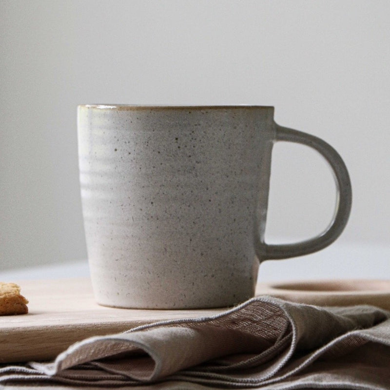 Pion Grey Ceramic Mug