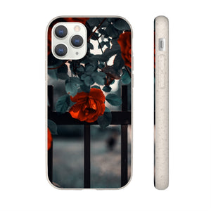 """Stolen"" - Red Roses - Biodegradable Phone Case"