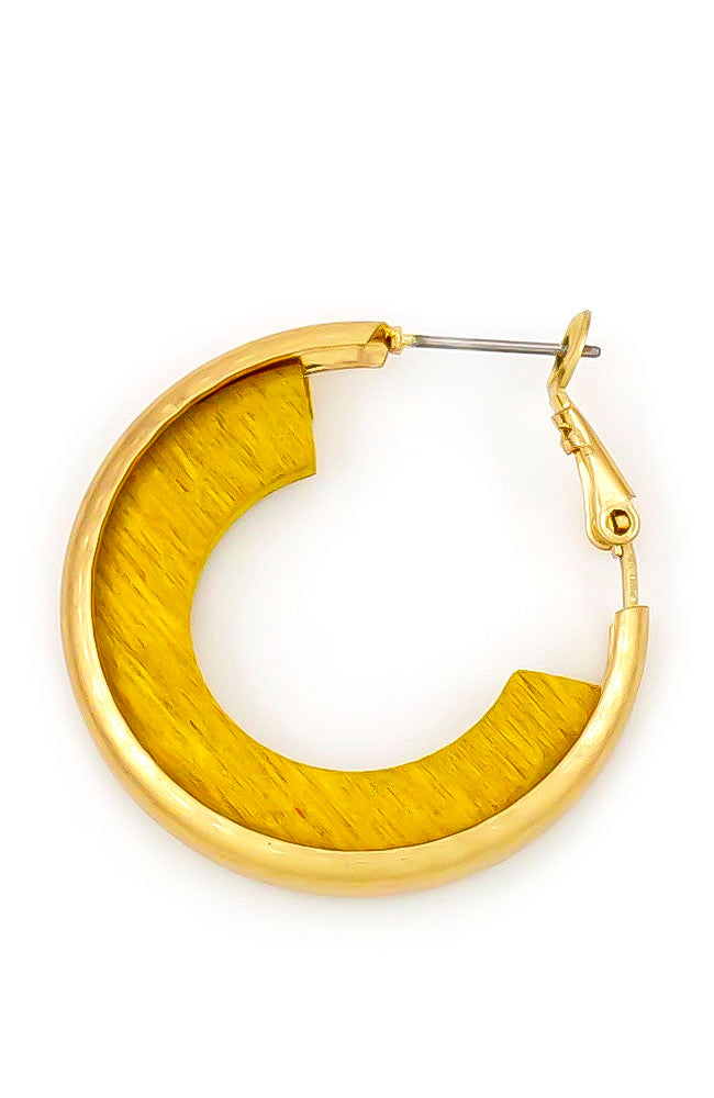 Yellow Hoop