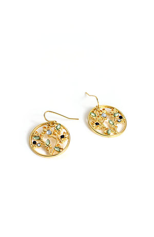 Goldtone Drop Earring