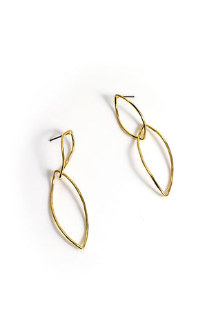 Goldtone Drop earrings