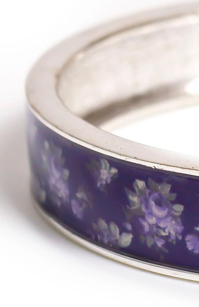 Printed Purple bangle Bracelet