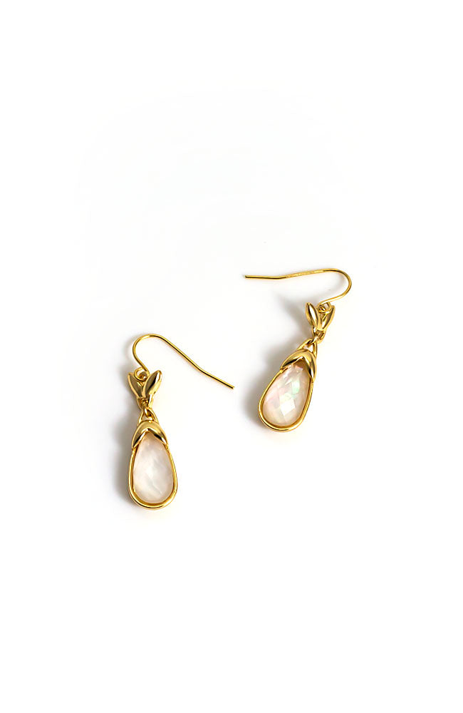 Pearlized Drop earrings