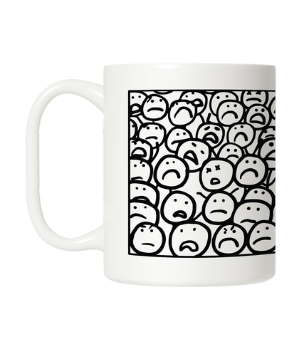 The Crowd - Coffee Mug