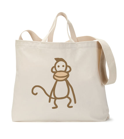 Instant Gratification Monkey Tote Bag