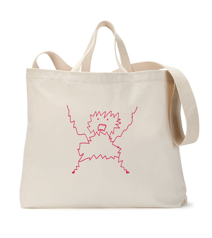 The Panic Monster Tote Bag