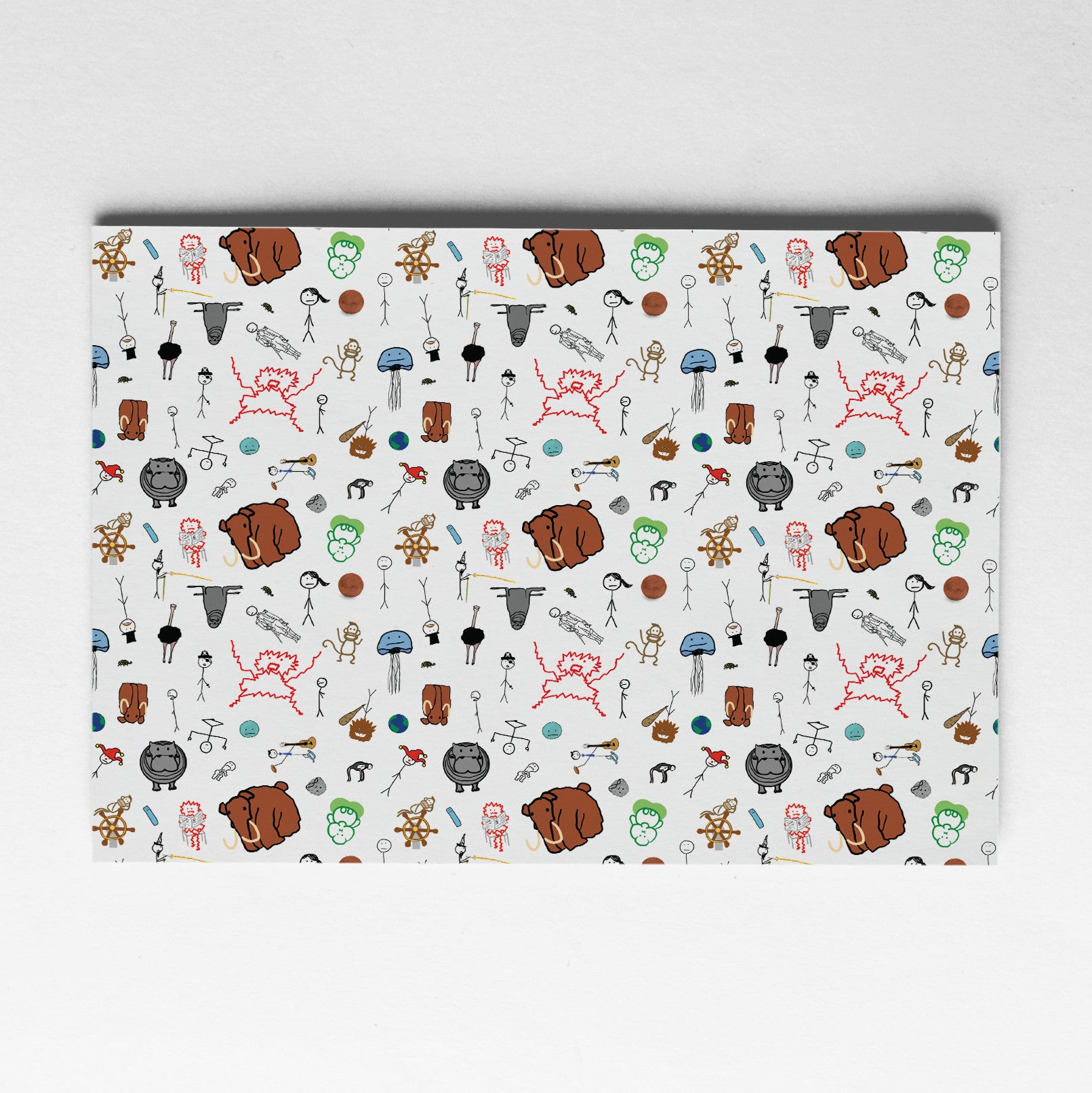 "Wrapping Paper Packs - WBW Characters (18"" x 24"" Sheets)"