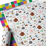 "Wrapping Paper Packs - Assorted WBW Designs (18"" x 24"" Sheets)"