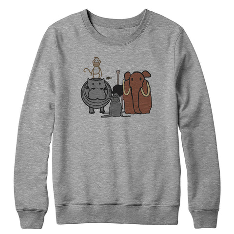 Animals Crewneck Sweatshirt