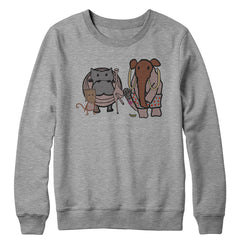 Animals Embarrassed Crewneck Sweatshirt