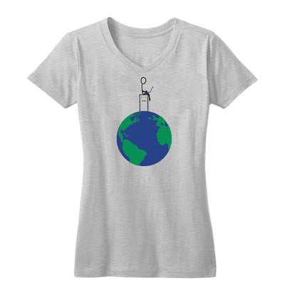 Human Computer Colossus Women's V Neck