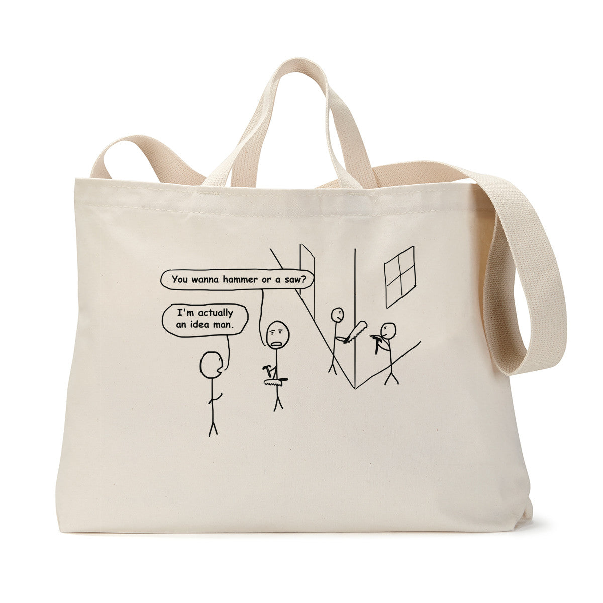 Idea Man Tote Bag