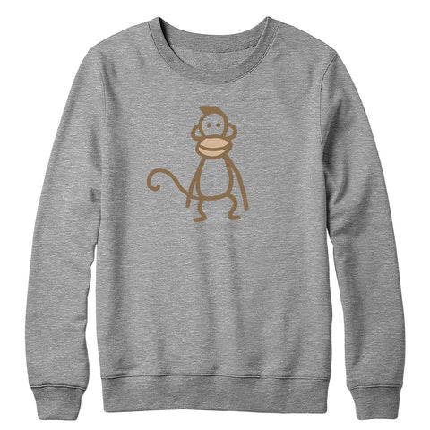 Instant Gratification Monkey Crewneck Sweatshirt