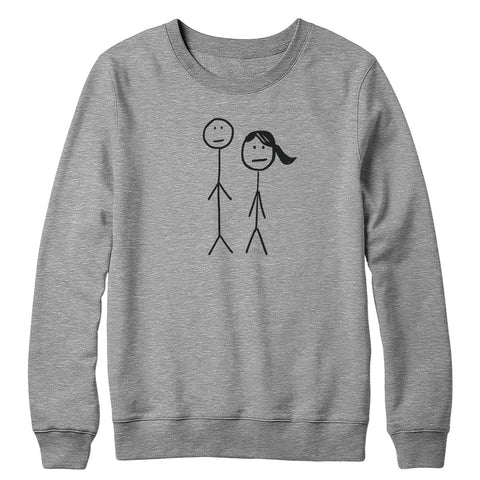 Jack and Lucy Crewneck Sweatshirt