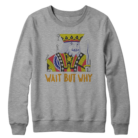 King Logo Crewneck Sweatshirt