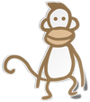 Instant Gratification Monkey Sticker