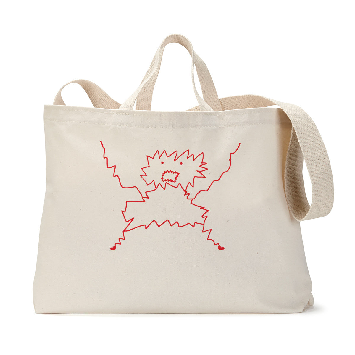 Panic Monster Tote Bag