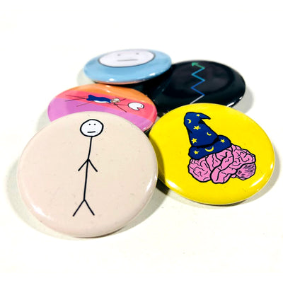 Posts Buttons (5-Pack)