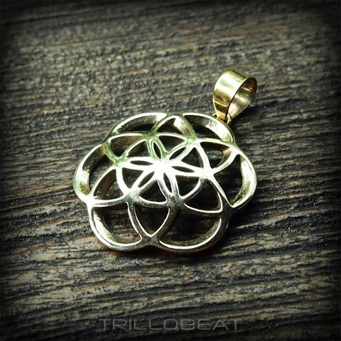 Twisted Seed of Life Pendant