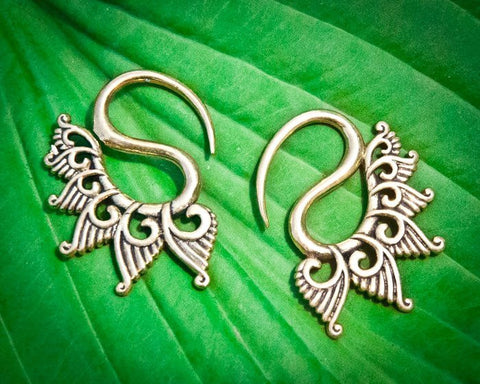 Wing gage earrings