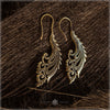 firebird wing earrings