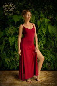 Femme Fatale Tight Dress l Adjustable Yoga Dress l Sustainable Bamboo Dress l Valentines Day Dress l Resort Wear