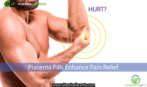 Placenta Helps Reduce Pain