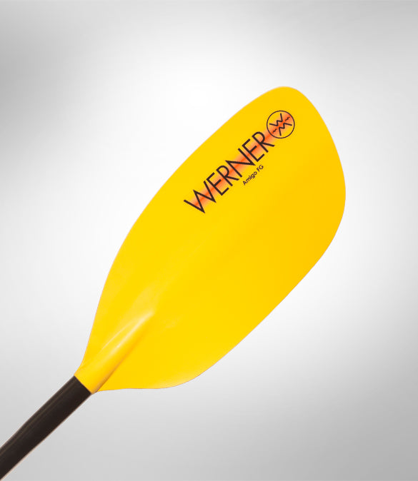 Werner Amigo 1 Piece Straight Shaft Small Paddle