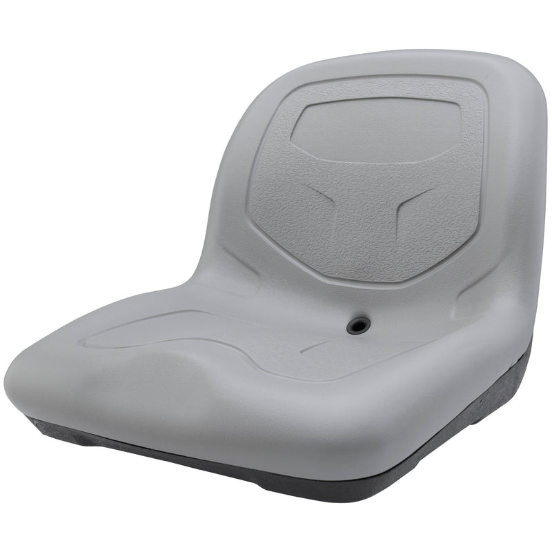 High-Back Padded Drain Hole Seat
