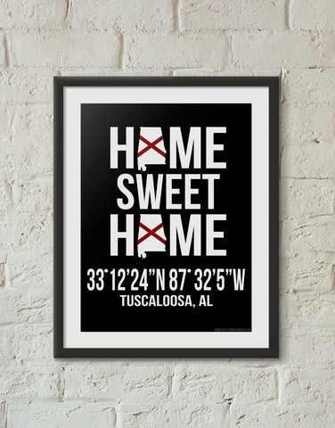 Print, Framed Print, and Canvas | Alabama Traditional