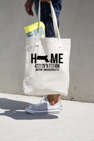 Massachusetts Tote Bag