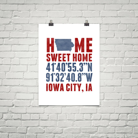 Print, Framed Print, and Canvas | Iowa Broadway