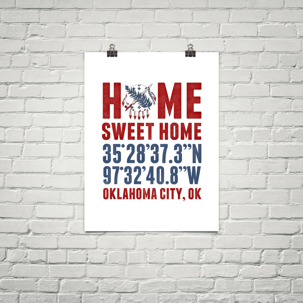 Print, Framed Print, and Canvas | Oklahoma Broadway
