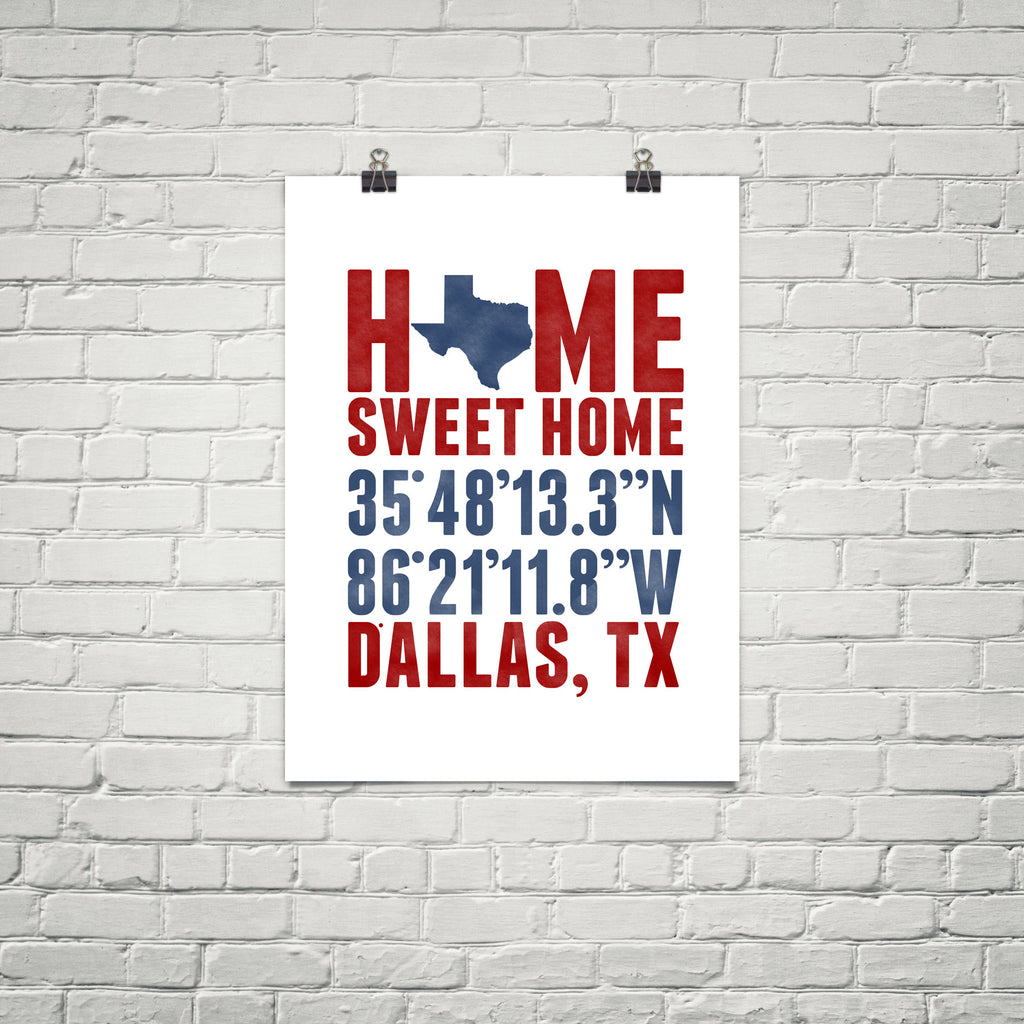 Print, Framed Print, and Canvas | Texas Broadway
