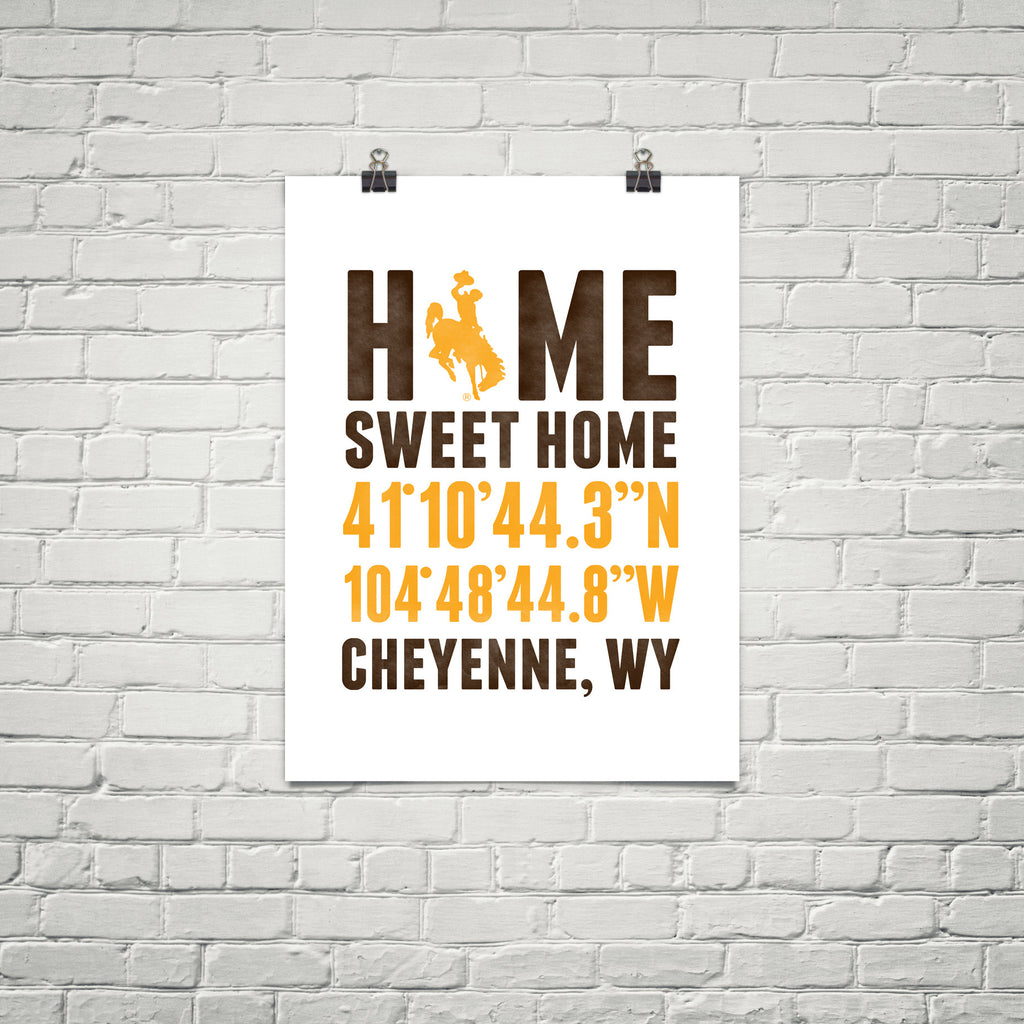 Print, Framed Print, and Canvas | Wyoming Broadway