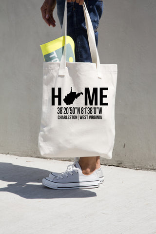 West Virginia Tote Bag