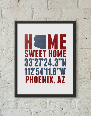 Print, Framed Print, and Canvas | Arizona Broadway